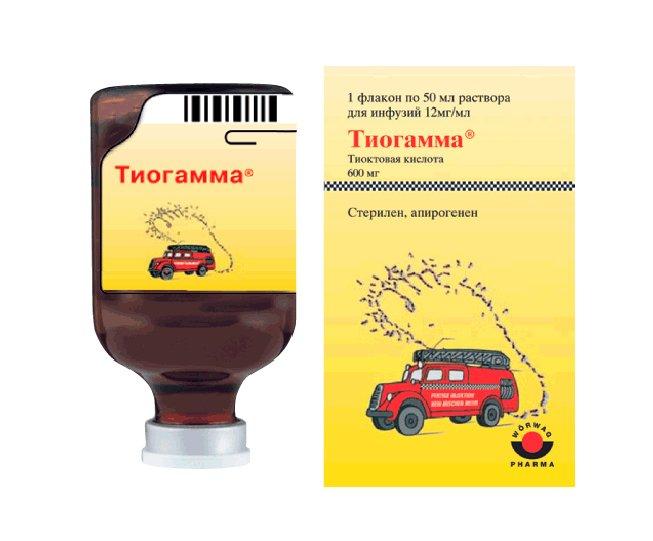 3. Раствор для инфузий «Тиогамма» Источник: 003.su