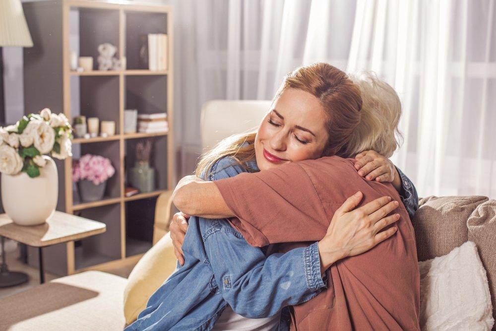 Эмоции при встрече после долгой разлуки