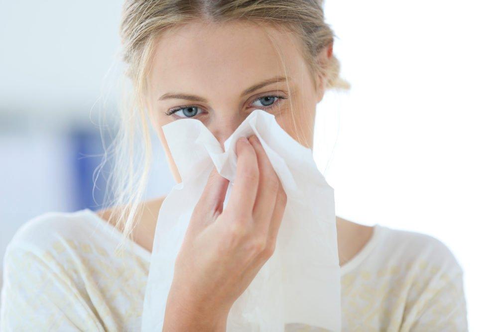 Симптомы полипов в носу