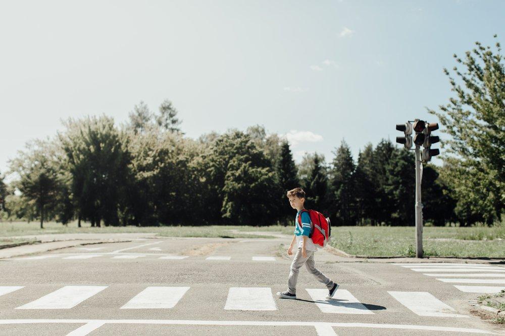 Правила пешей прогулки по городу