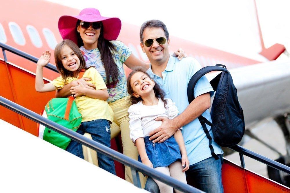 Родители организуют быт в поездке