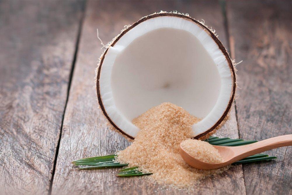 Кокосовый сахар — источник медленных углеводов