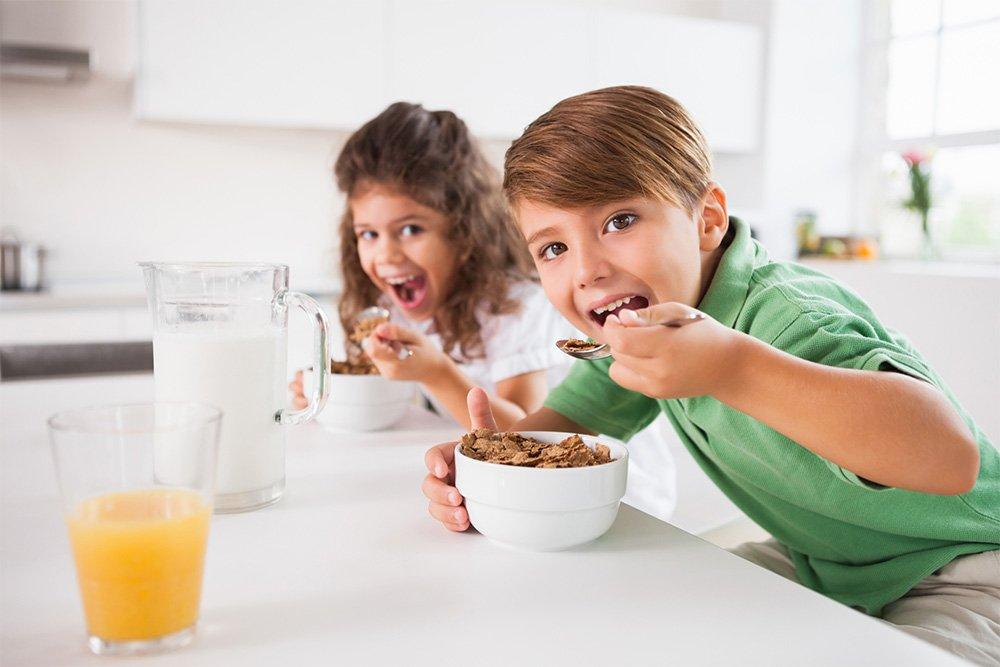 Важный завтрак: энергия для детей