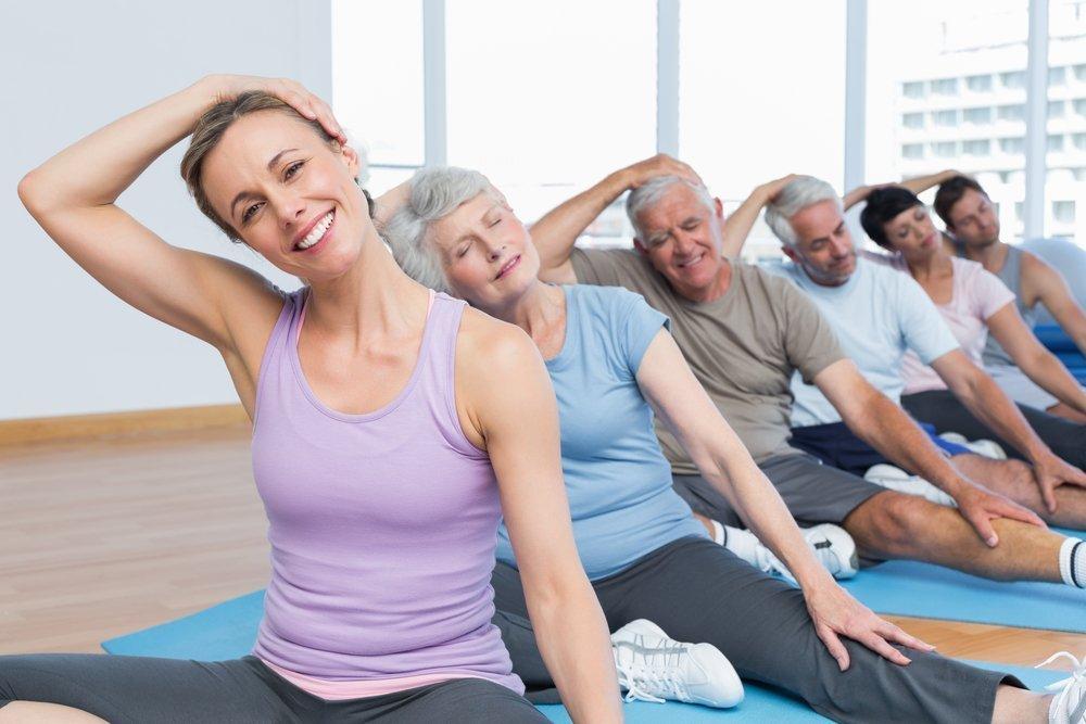 ЛФК и здоровый образ жизни для борьбы с шейным остеохондрозом