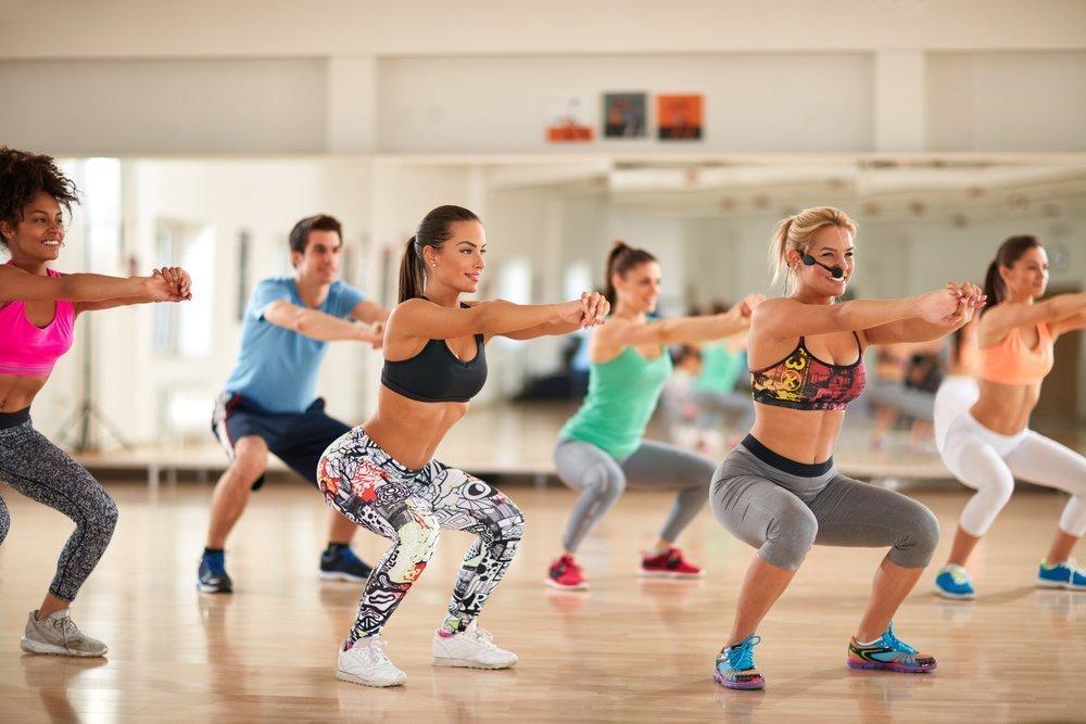 Виды тренировок для похудения зумба