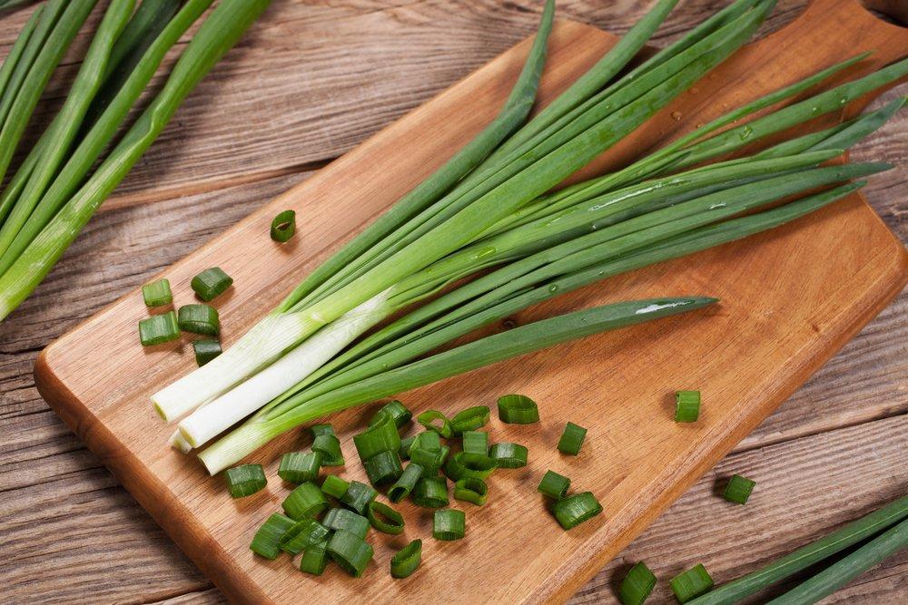 Лук зеленый польза в похудении
