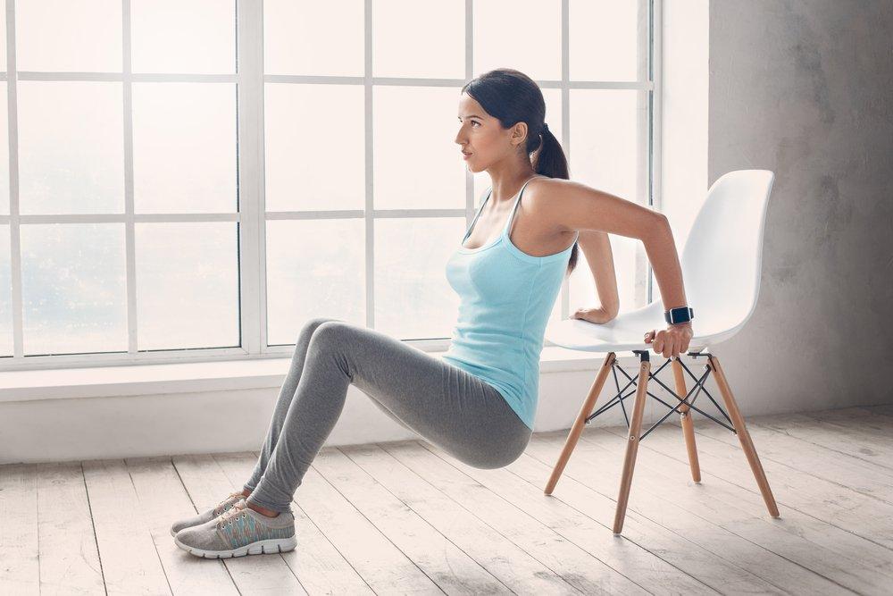 цикл упражнений для похудения дома