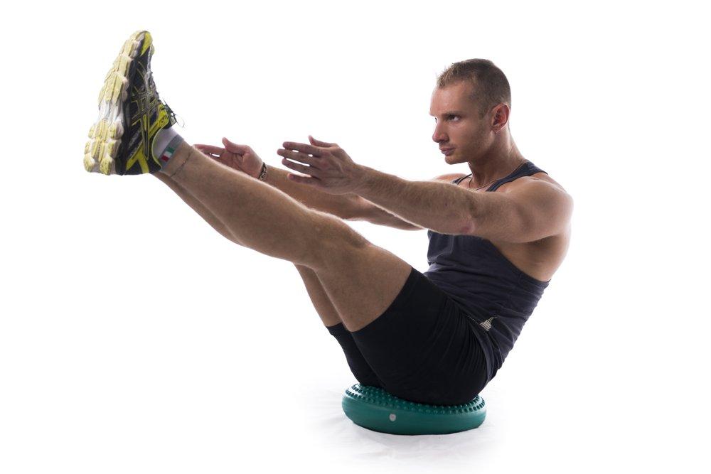 Комплекс фитнес-упражнений для диска
