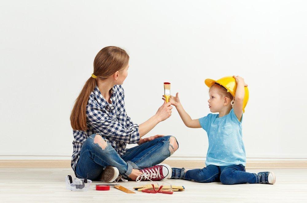 Практические советы для родителей, кто планирует ремонт с детьми