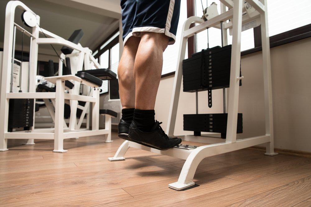 Фитнес-нагрузка для икроножных мышц