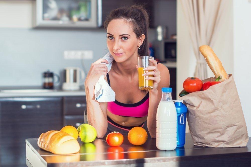 Как правильно сочетать тренировки и диету