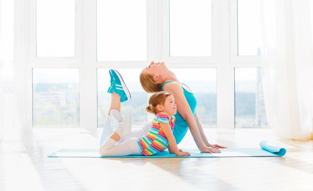 Упражнения для детей на верхнюю часть тела