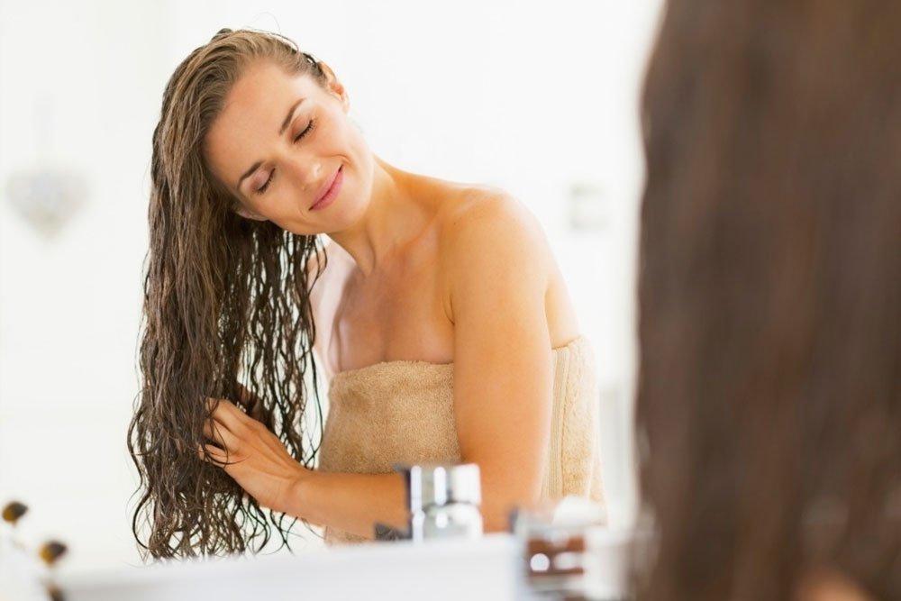 Здоровье и красота волос и ежедневное мытье