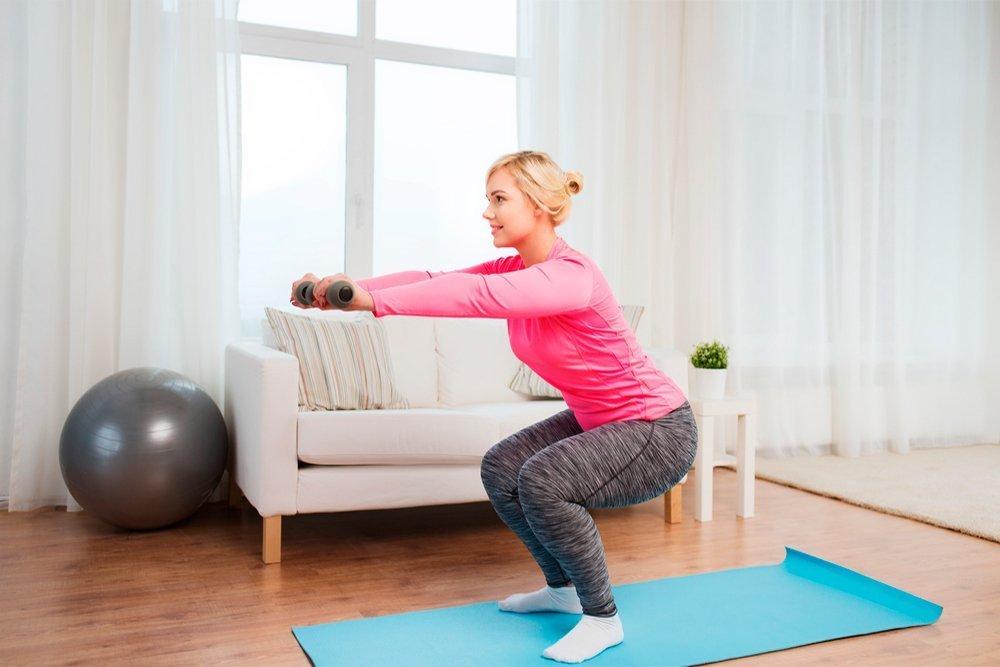 Дома сбросить вес упражнениями дома
