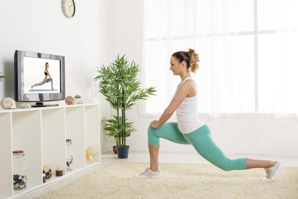 Комплекс упражнений для похудения нижней части тела