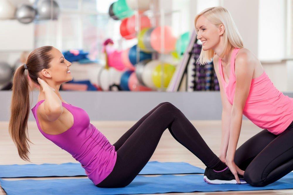Физические нагрузки для юных и молодых