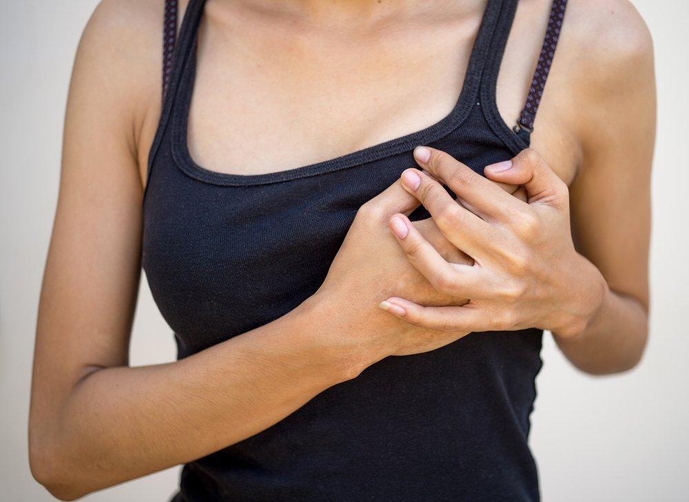 Клиническая картина фиброзно-кистозной мастопатии