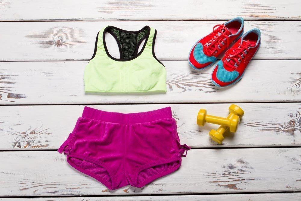 Спортивное белье: вход только для женщин