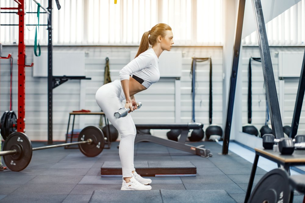 Упражнение 3: Становая тяга из стойки сумо