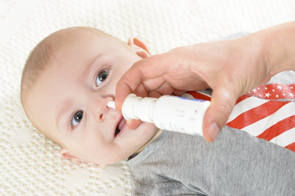 как ребенку с рождения вылечить насморк сделать рамку