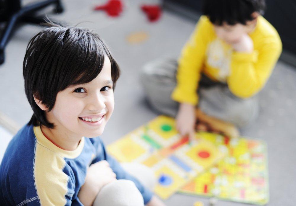 Настольная игра для малыша по возрасту