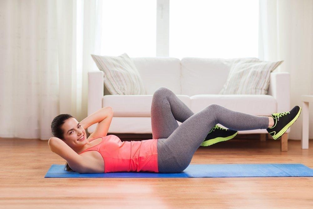 1. Заниматься фитнесом хотя бы пять минут в день