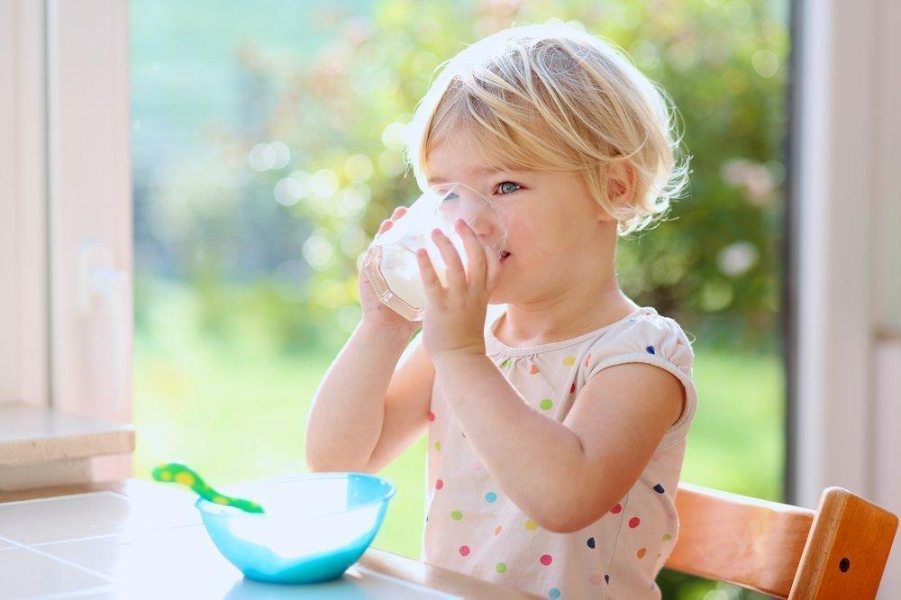 Молочные продукты в меню малыша