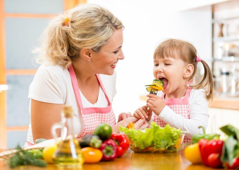 Питание ребенка начинается с овощей