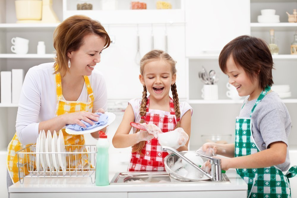 Распределяйте обязанности в семье