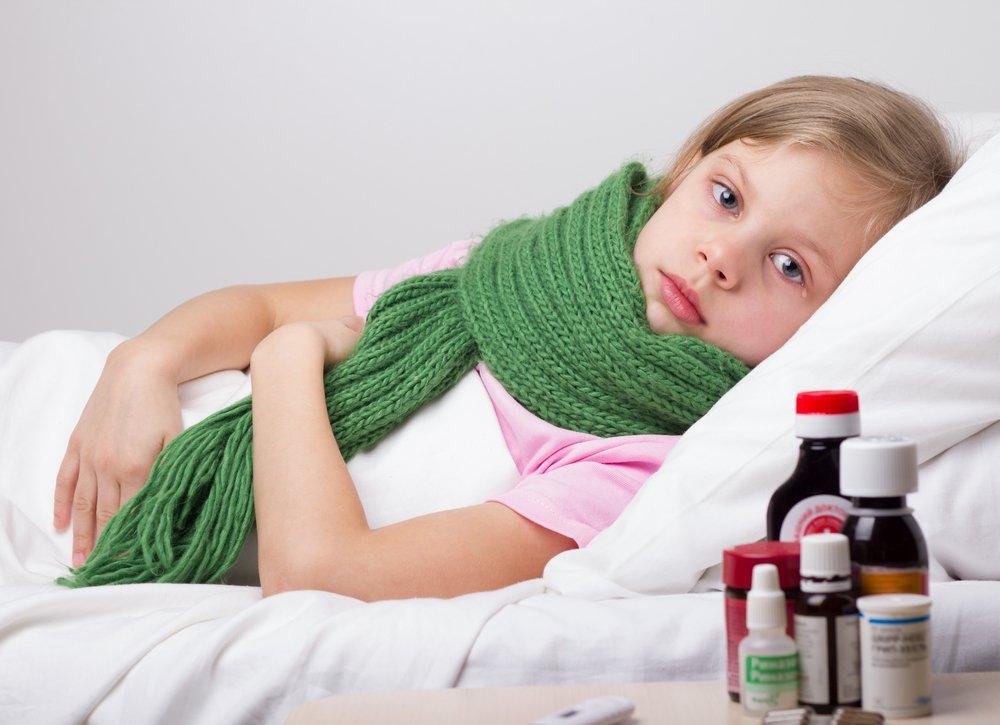 Паротит у детей: отек, воспаление, боль