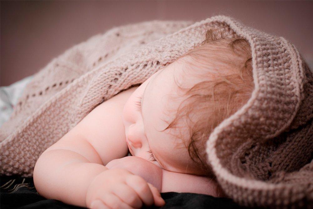 Если ребенок потеет во время сна