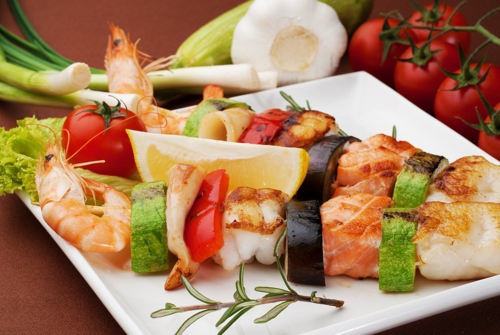 Какие овощи подать к морепродуктам и рыбе?