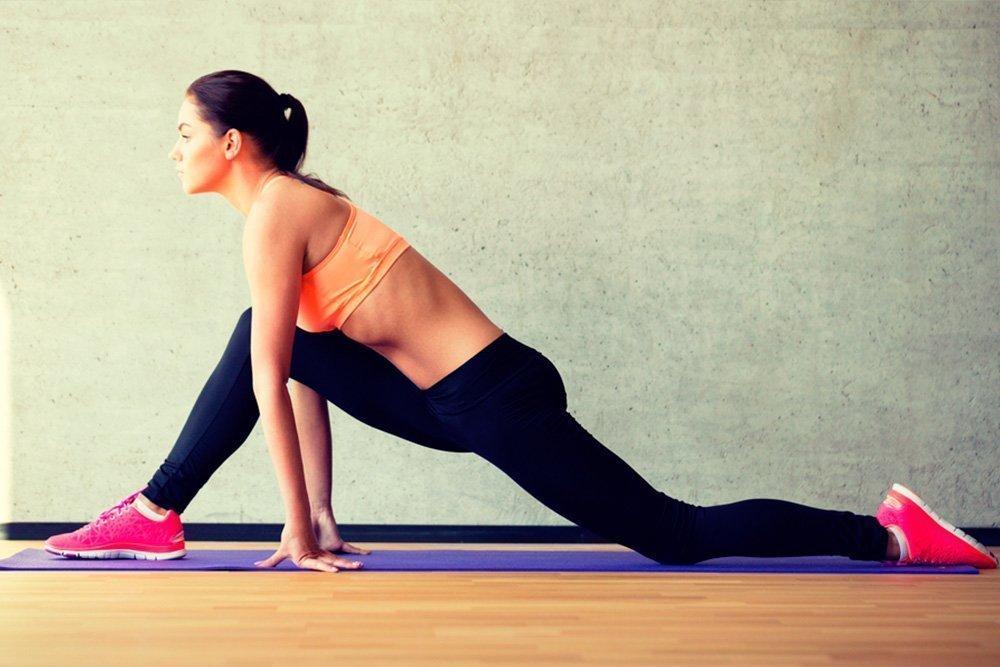 Продольный шпагат как один из элементов фитнеса