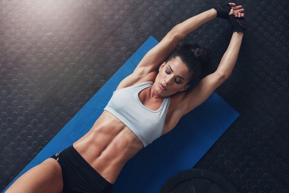 Домашний фитнес для живота