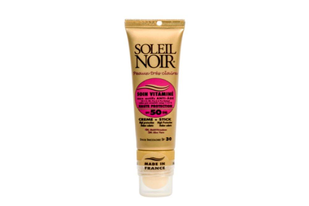 2 в 1: Крем для лица Soin Vitamine SPF 50+ и бальзам для губ Stick SPF 50+
