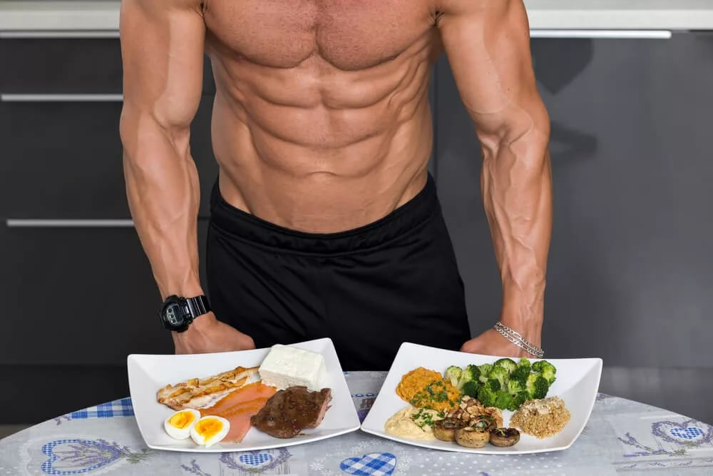 Как сбросить вес мужчине питание