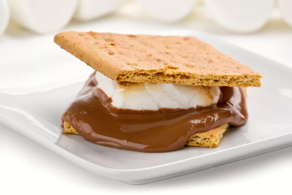 Оригинальный десерт: сморсы с мороженым