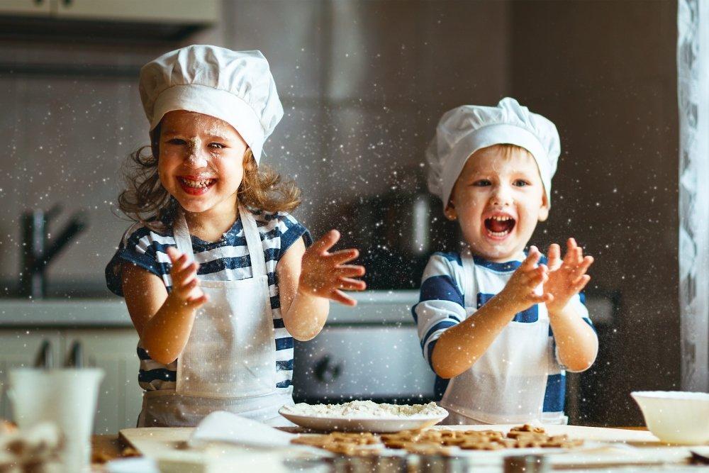 Знакомство ребенка с национальными кухнями