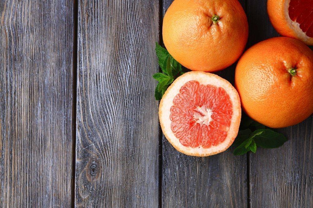 3. Грейпфрут в диете для похудения