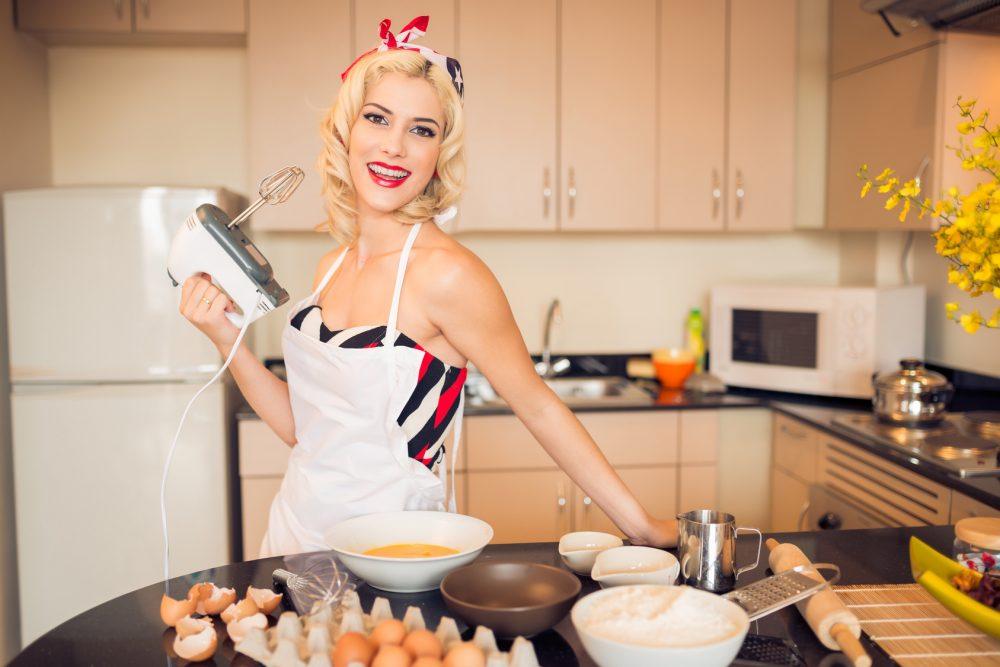 Для приготовления десертов используйте разную муку