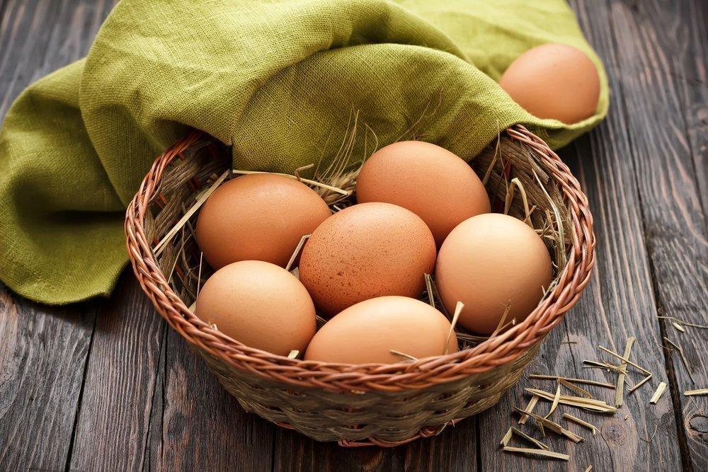 Белок и желток яйца