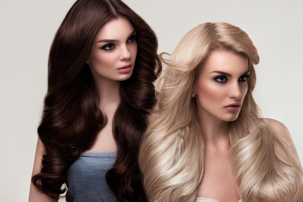 Цвет волос и цветотип