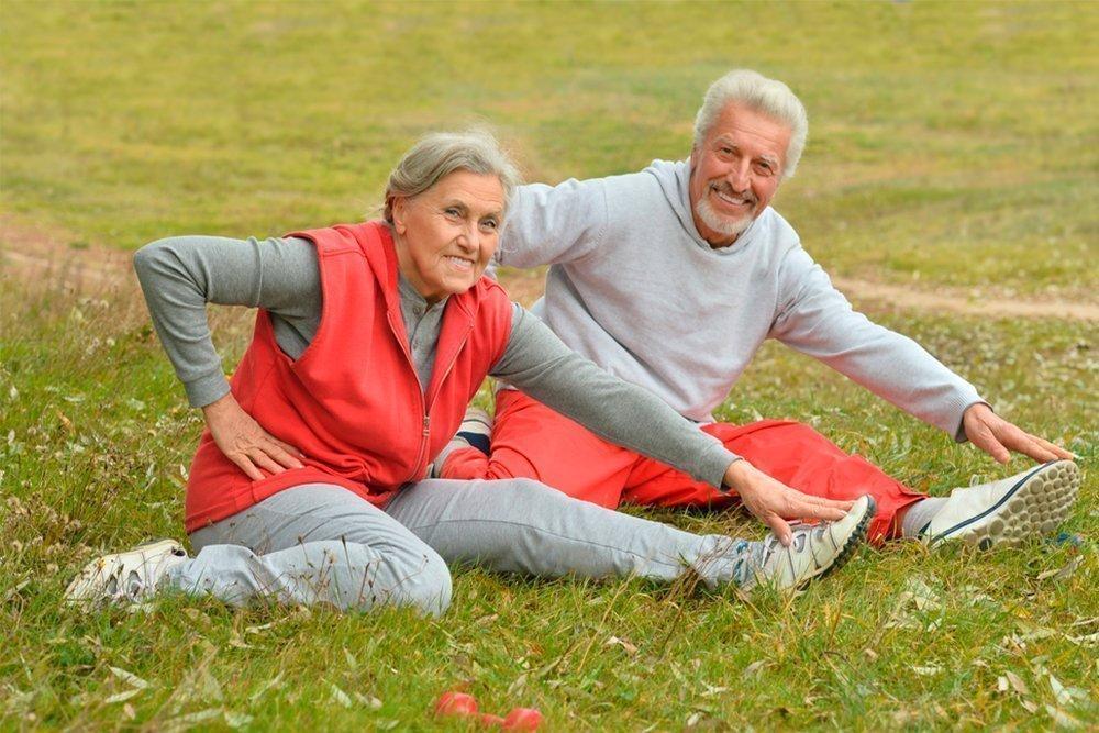 Картинки гимнастика пенсионеры