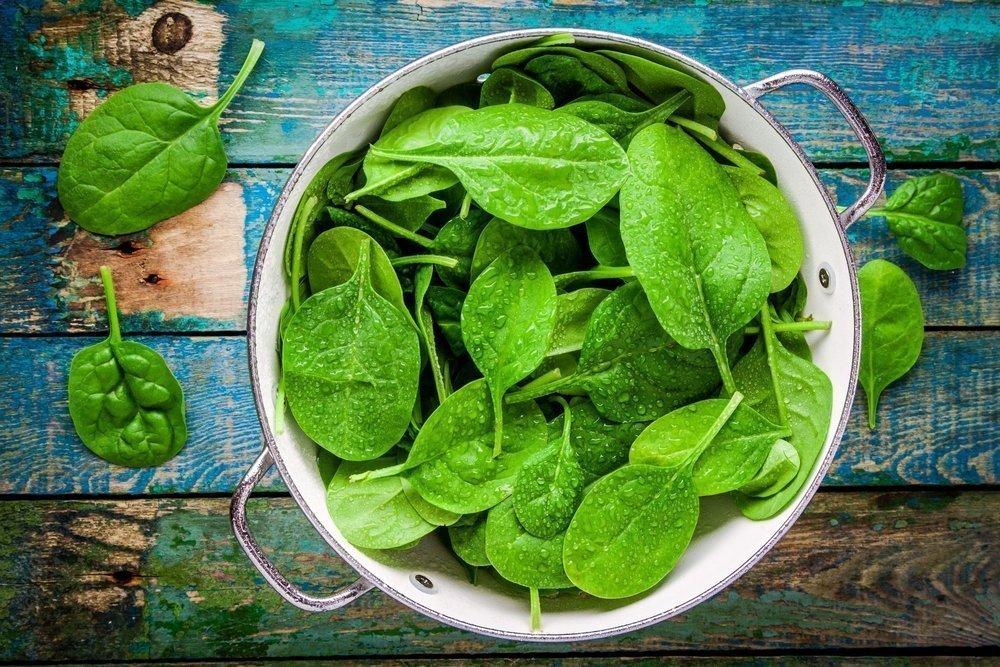 Ищите витамины в шпинате