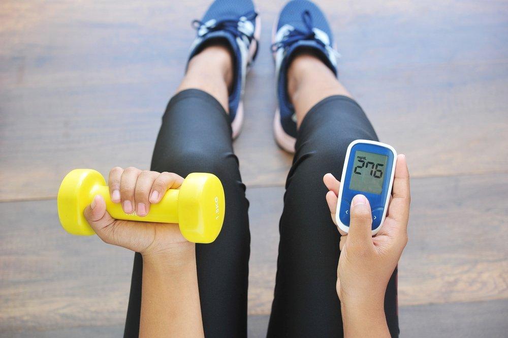 Силовые упражнения для контроля уровня глюкозы в крови