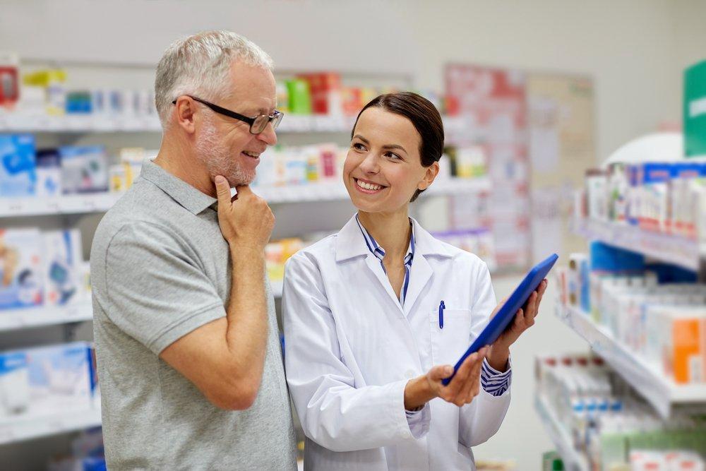 Активное консультирование клиентов аптеки