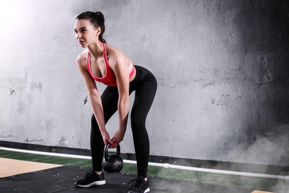 Упражнения с гирей в классическом спорте
