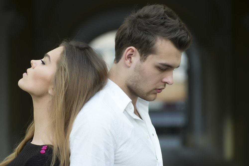 Отношения с мужчиной не терпят морального насилия