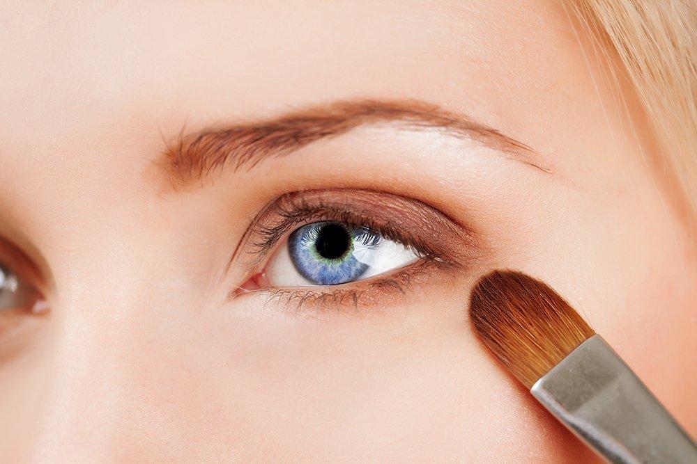 Выберите технику нанесения теней с учетом формы своих глаз