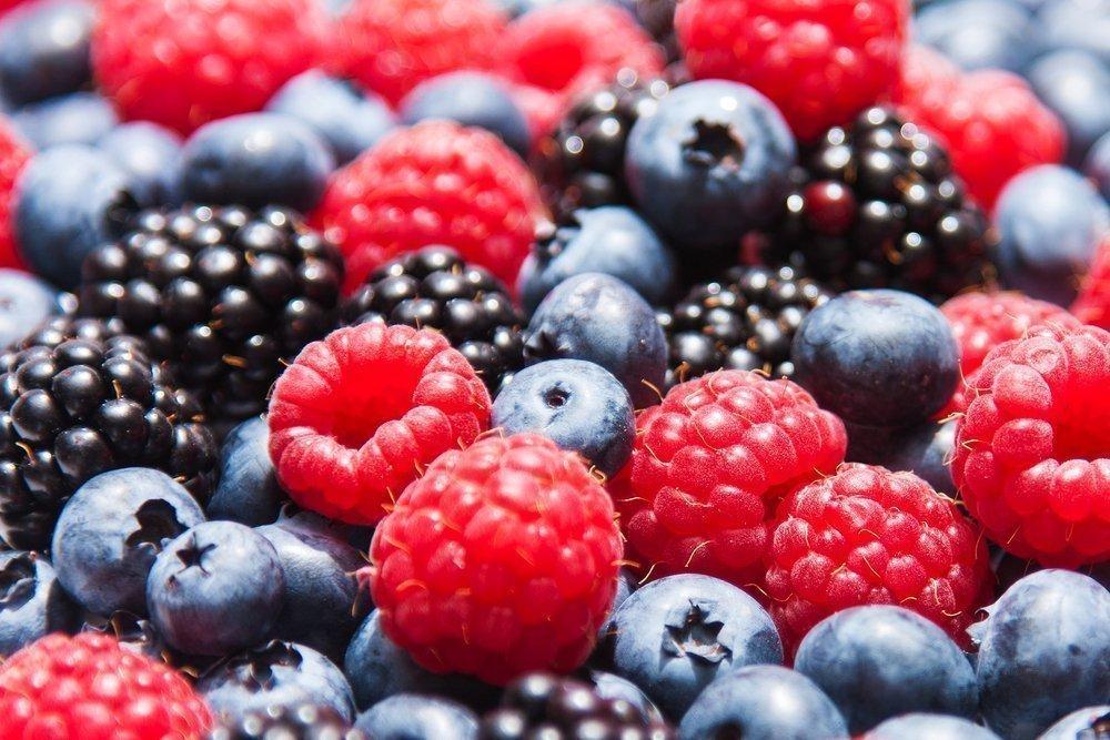 1. Свежие и сочные ягоды